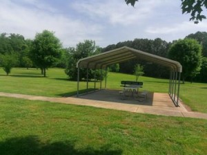 Picture of Back Picnic Area